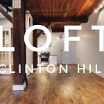 cool loft apartment in prime clinton hill video tour nyc brooklyn ny
