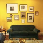 cool yellow living rooms interior wall paint color with
