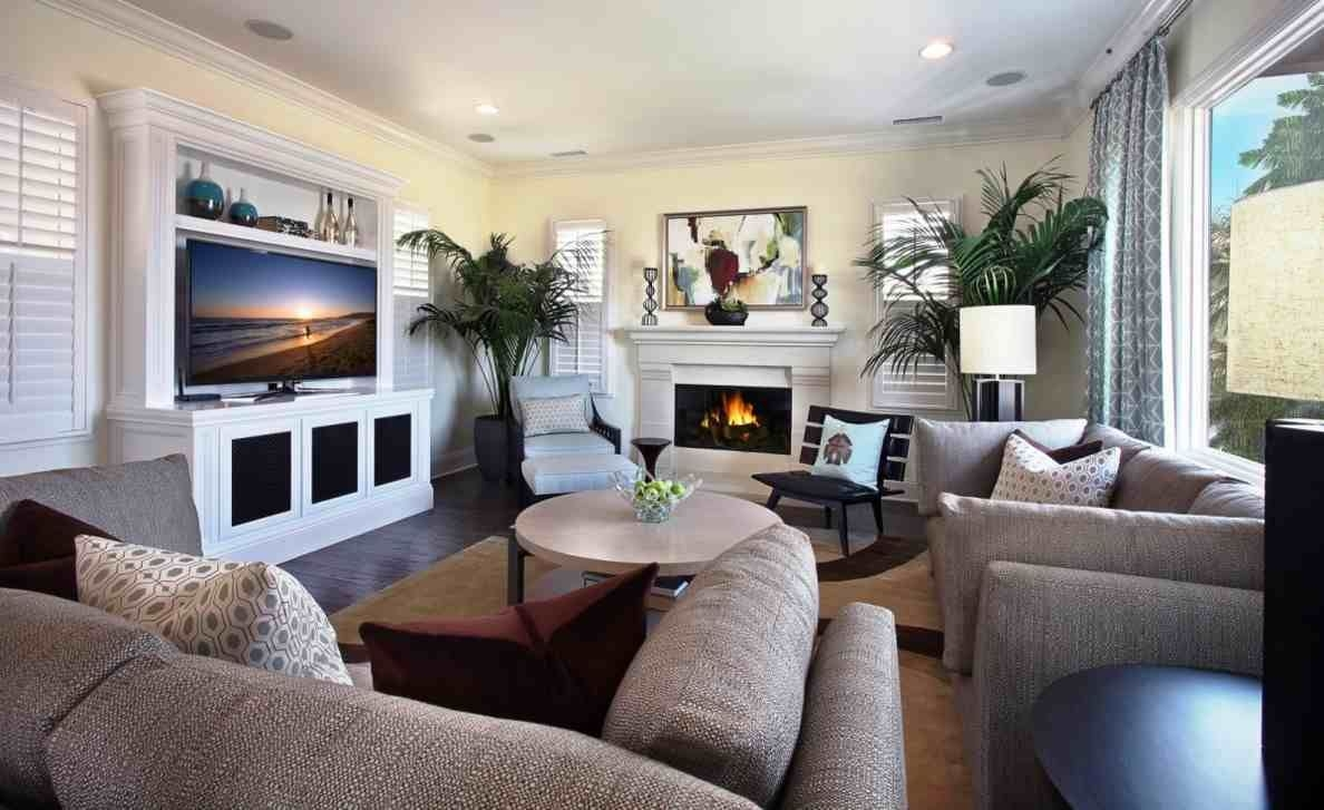 couches and tv arrangement for small room home design ideas