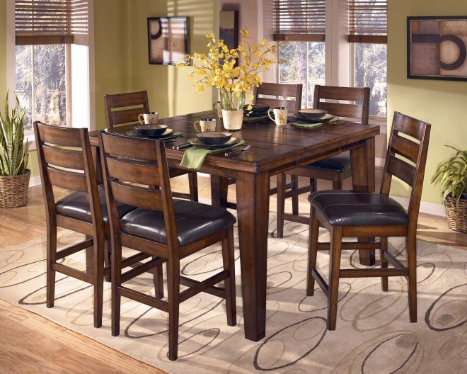 counter height dining sets butterfly leaf