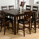 counter height table wbutterfly leaf hand hewn corners