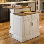 countertop shop home styles white midcentury kitchen island at