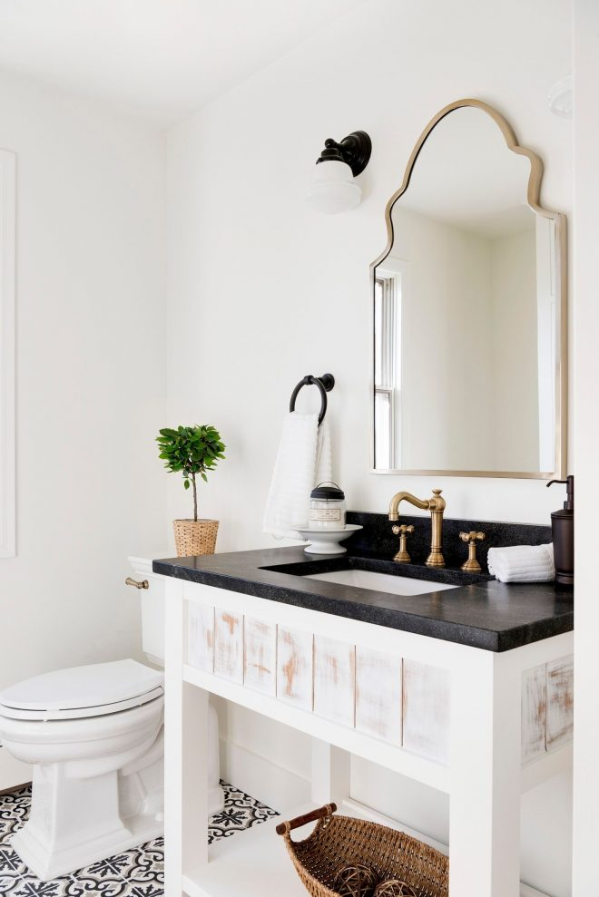 country home renovation in 2019 white bathroom decor