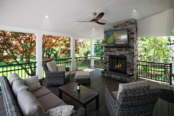 covered back porch ideas designs chester lancaster