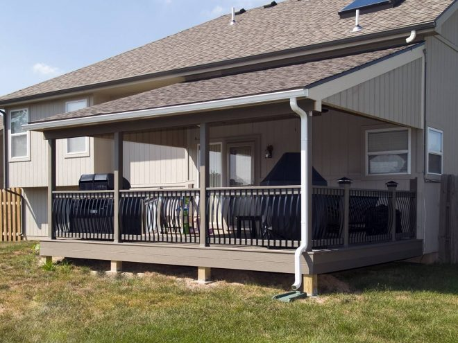covered decks patio deck designs small house plans 100793