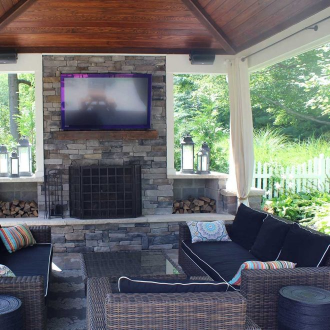 covered outdoor living spaces custom outdoor living spaces bpi
