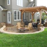 covered patio ideas on a budget home citizen