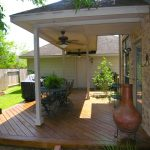 covered porch and deck designs front underside home elements