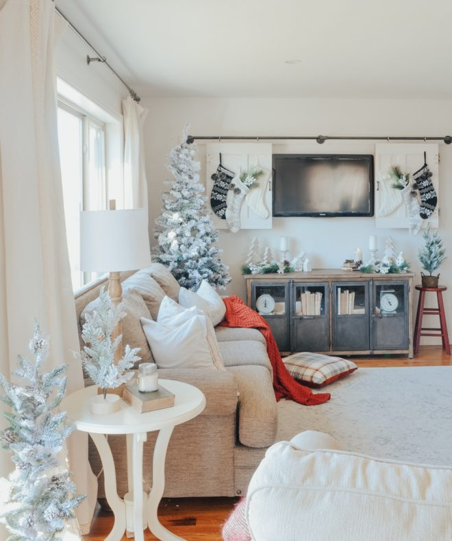 cozy christmas living room tour