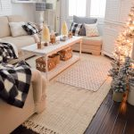 cozy cottage winter living room decorating ideas fox