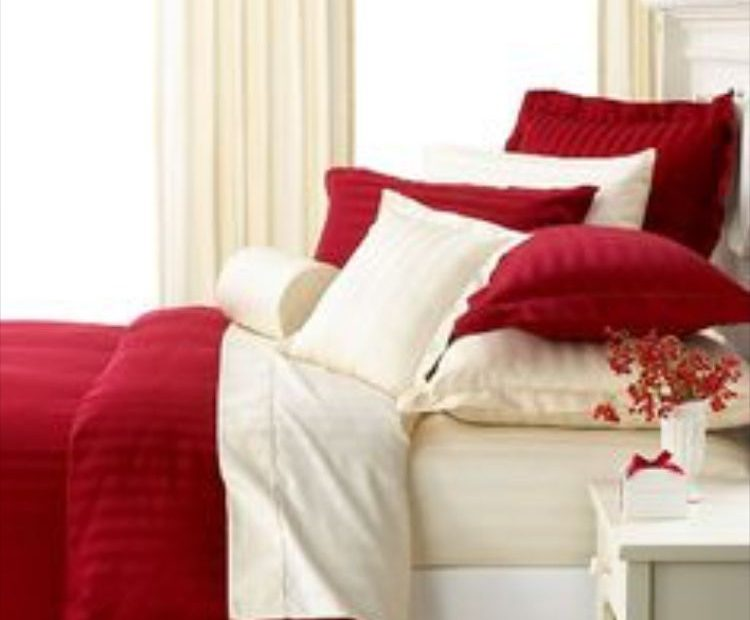 cream and red bedroom idea bedroom red white bedroom