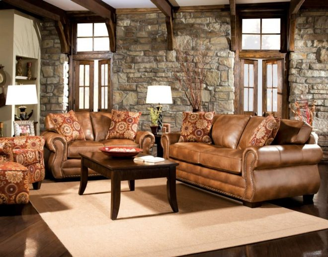 creating your dream leather living room set living room design 2018