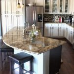 creative home design charming curved kitchen island highest clarity