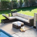 creative of outdoor patio furniture sectional wicker