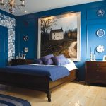 creative wall painting ideas for bedroom blue bedroom