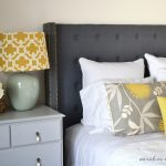 cute bedroom diy makeovers check out the custom headboard