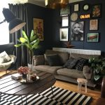 dare to go dark dark walls living room dark living rooms