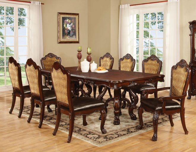 dark cherry dining table set shop for affordable home furniture