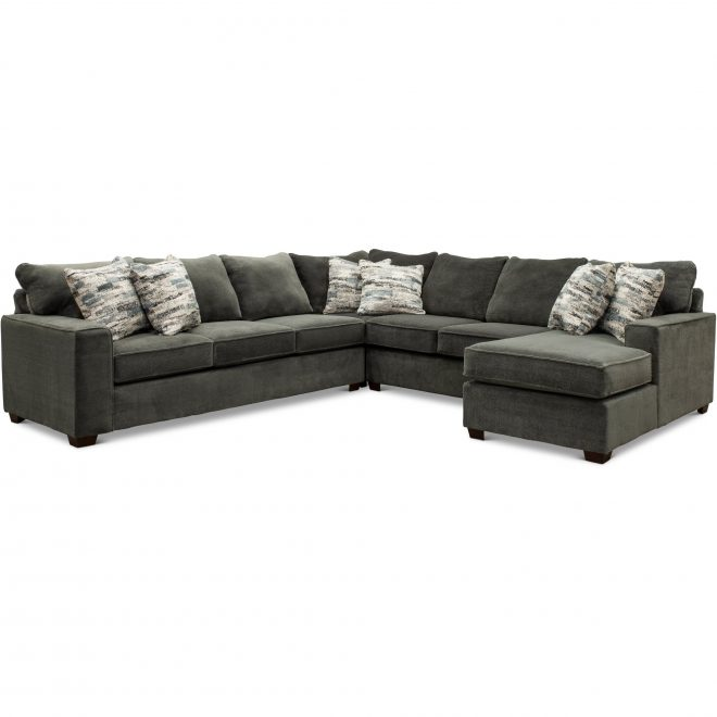 dark gray 4 piece sectional sofa with laf sofa autumn