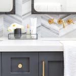 dark gray vanity with brass dark gray bathroom vanity with