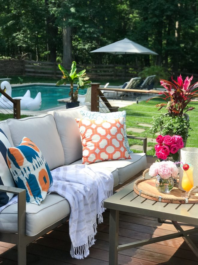 deck decorating ideas for summer the greenspring home