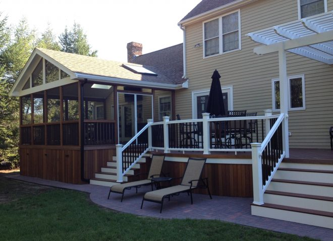 deck design ideas with screened porch archadeck outdoor living