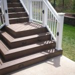 deck design step railing stairs louis tierra este 15802