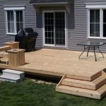 deck patio ideas small decks and patios simple home elements