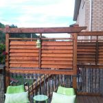 deck privacy screen outdoor patio designs privacy
