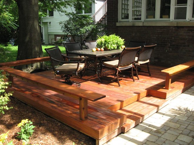 deck vs patio what is best for you huffpost life