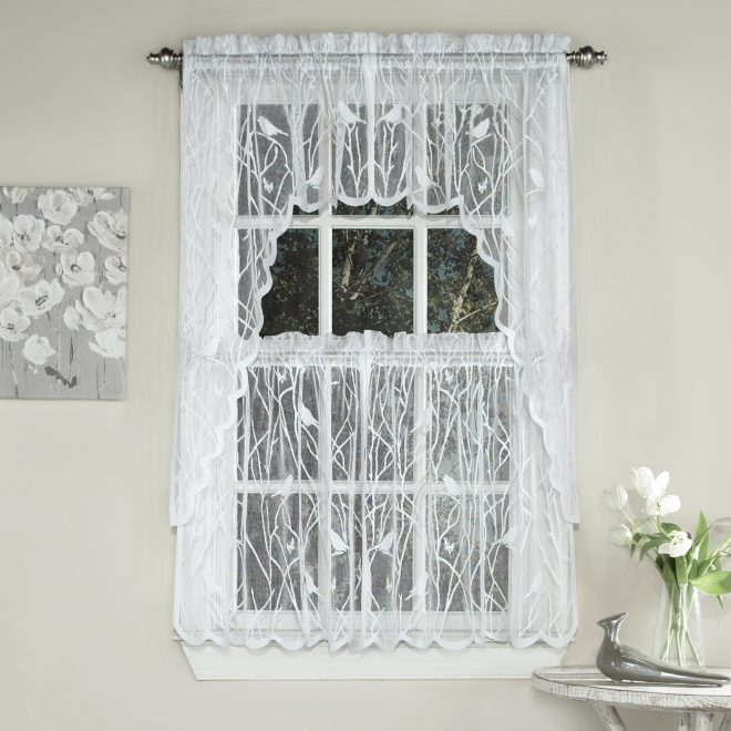 decorating white sheer cafe curtains sheer tier curtains kitchen
