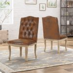 delavan traditional upholstered dining chairsset of 2 christopher knight home