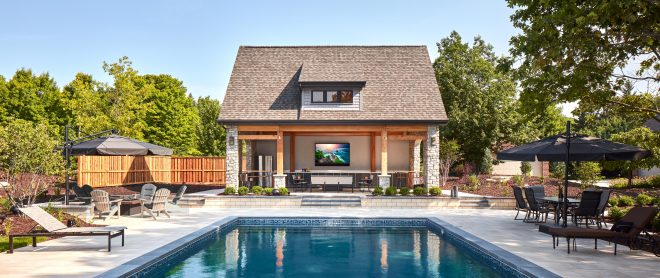 designing the perfect outdoor entertainment space modern