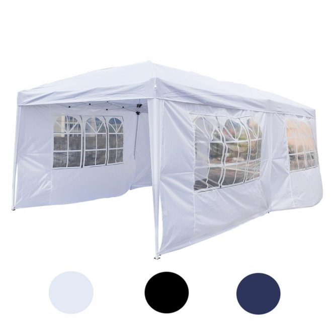 details about 10 x 20 ez pop up canopy tent patio shade shelter outdoor wedding party sidewall