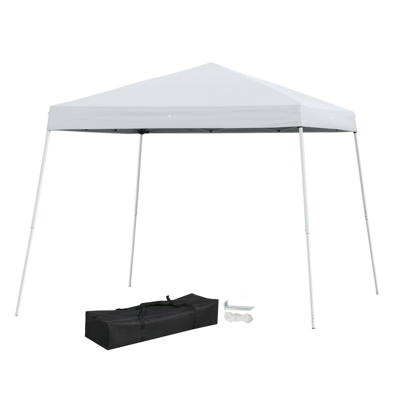details about 10x10 outdoor yard patio pop up folding canopy tent awning gazebo shade shelter