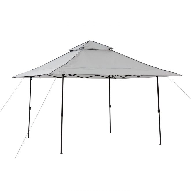 details about 12 x 12 lighted instant canopy pop up tent umbrella outdoor patio camping event