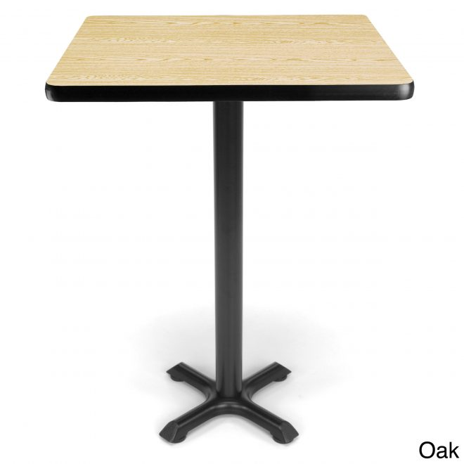 details about 30 inch square x style base cafe table