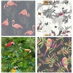 details about beautiful exotic and tropical birds themed wallpapers feature wall decor bedroom