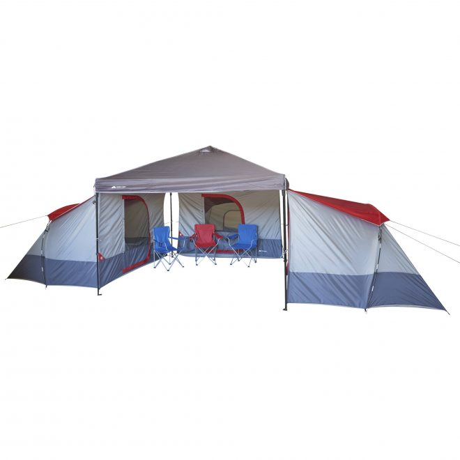 details about connect canopy tent 4 person all season camping hiking outdoor cabin tent