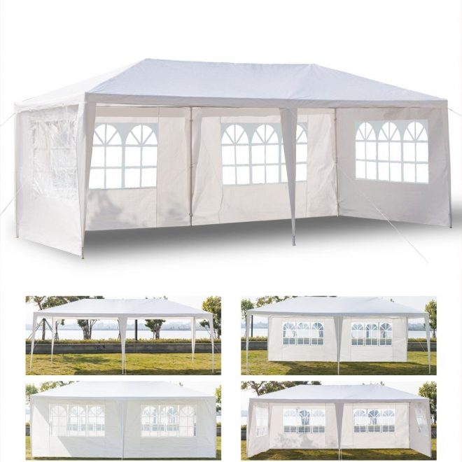 details about outdoor 10x20canopy party wedding tent heavy duty gazebo pavilion cater events