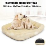 details about pet bed cushion dog cat warm mat soft pad nest for crate house indoor outdoor us