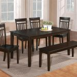 details about the room style 7pc cappuccino dining room