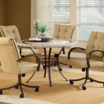 dining chairs on wheels best furniture for all home types