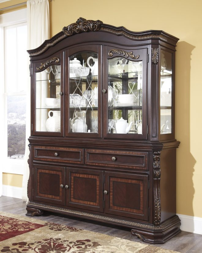 dining room buffet hutch pattern