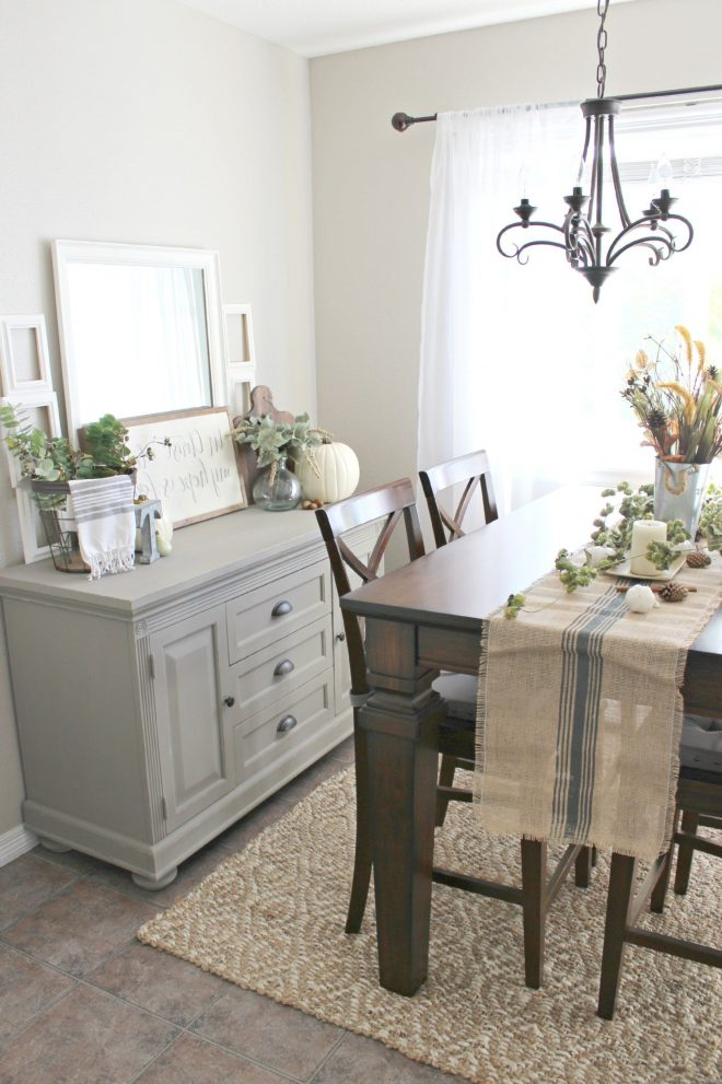 dining room buffet table decor house design inspirations