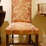 dining room chair upholstery fabric high back leather dining chairs
