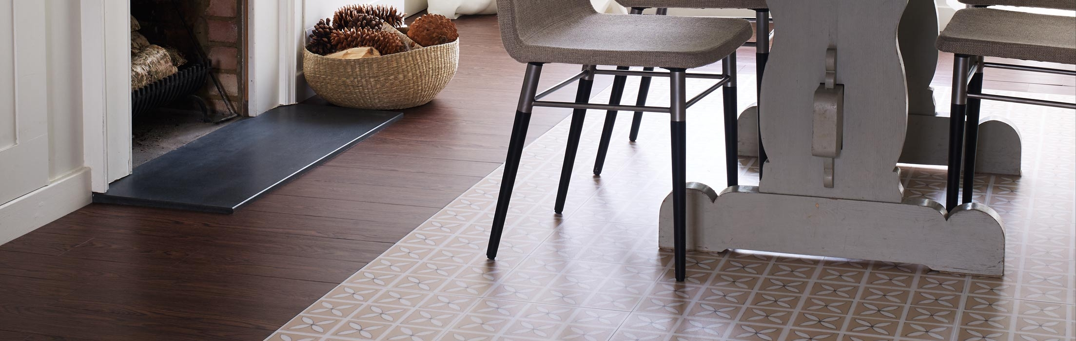 dining room flooring ideas vinyl rubber tiles harvey maria