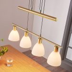 dining room hanging lamp simeon matt brass