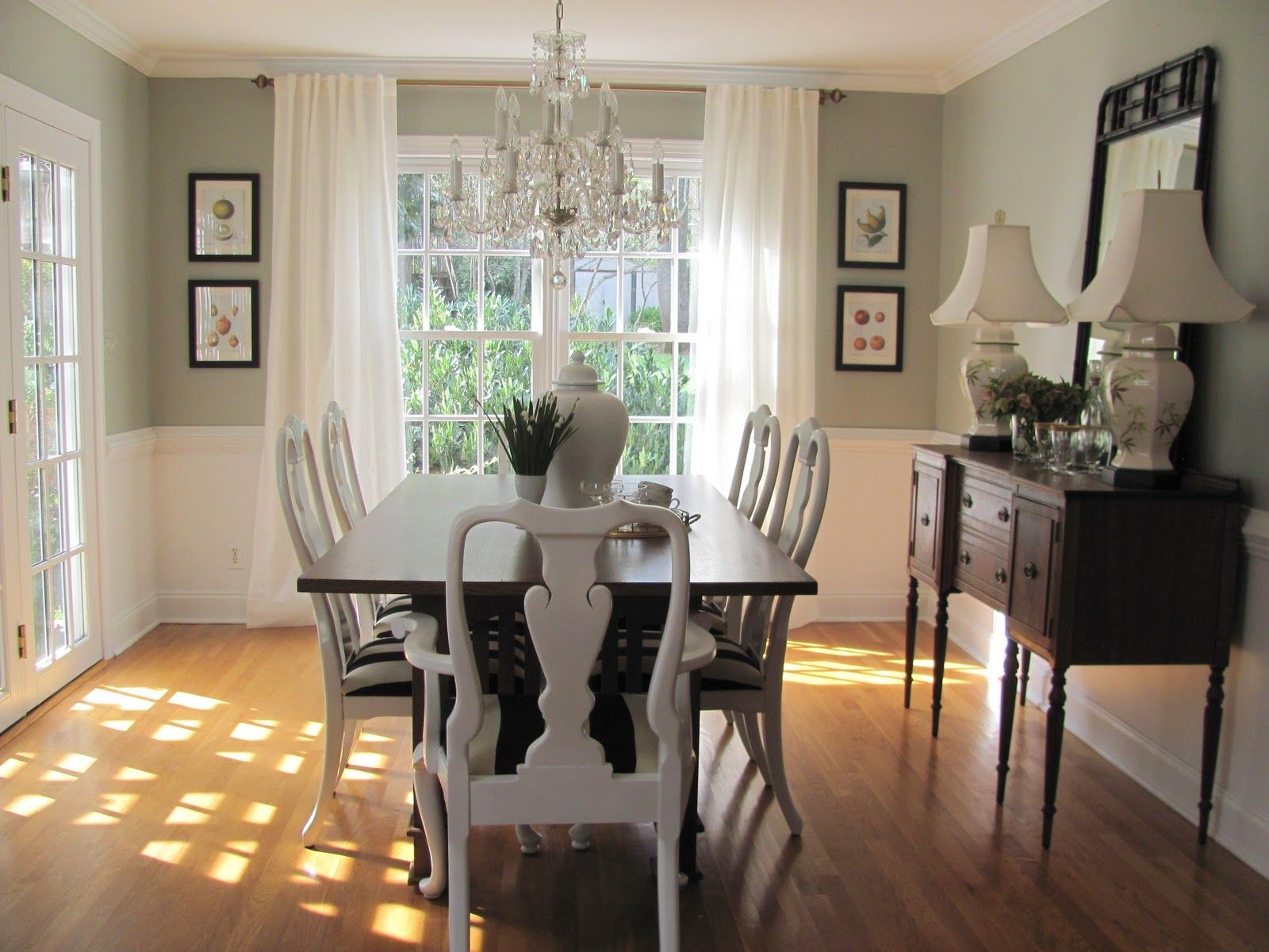 Dining Room Paint Ideas With Chair Rail – Opnodes