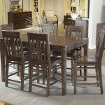 dining room set tall dining room set bar height kitchen table